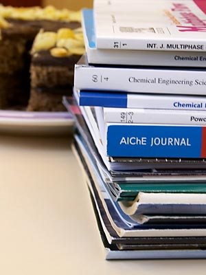 Journals and cake © Richard West