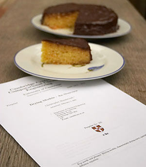 Preprint and cake © Richard West