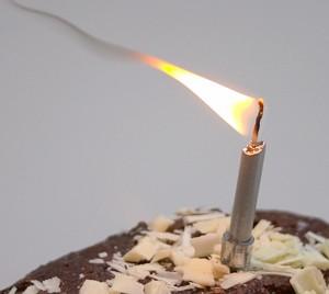 Sooting Flame © Richard West